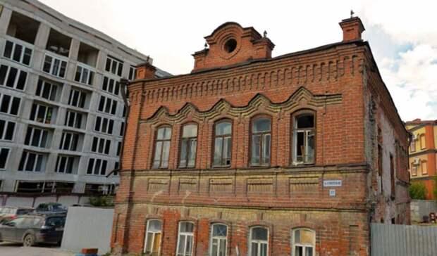 Крупный застройщик собирается купить в центре Тюмени старое кирпичное здание