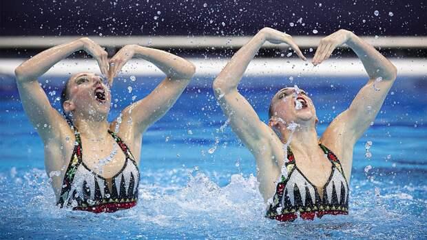 Синхронистки Ромашина и Колесниченко победили в произвольной программе, завоевав золото ЧЕ