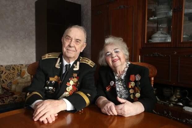 Борис и Тамара Гудковы через 70 лет после свадьбы / Фото: Ярослав Чингаев
