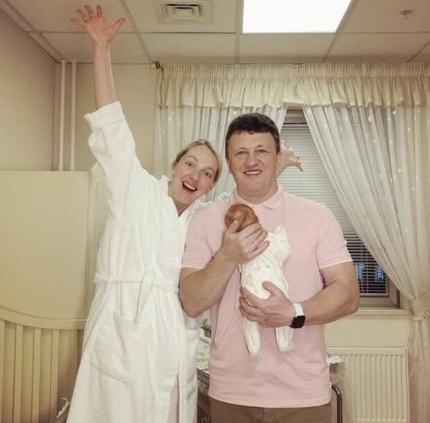 Галина Боб спустя месяц после рождения дочери дала ей имя