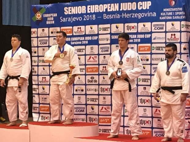 Севастопольский дзюдоист стал лучшим на турнире в Сараево