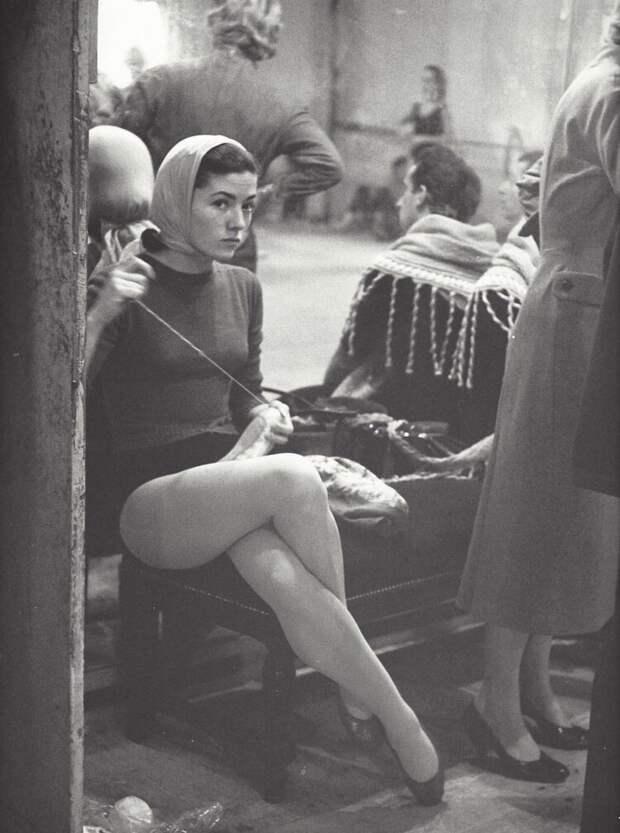 Балерина. Парижская опера, 1950-е
