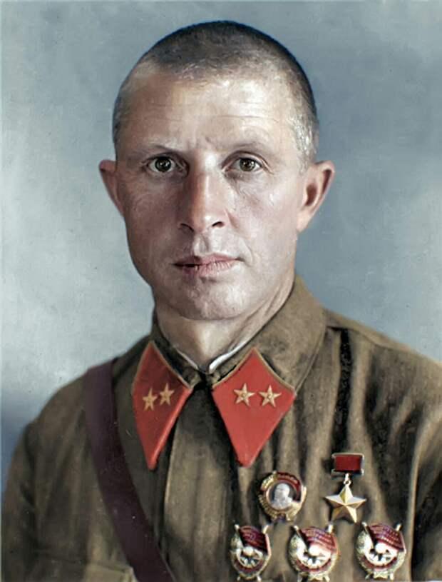 Александр Родимцев - один из главных героев Сталинградской битвы