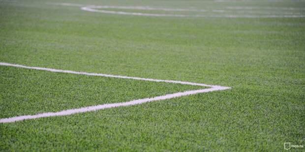 Футбольное поле на улице Мневники приведут в порядок до конца августа