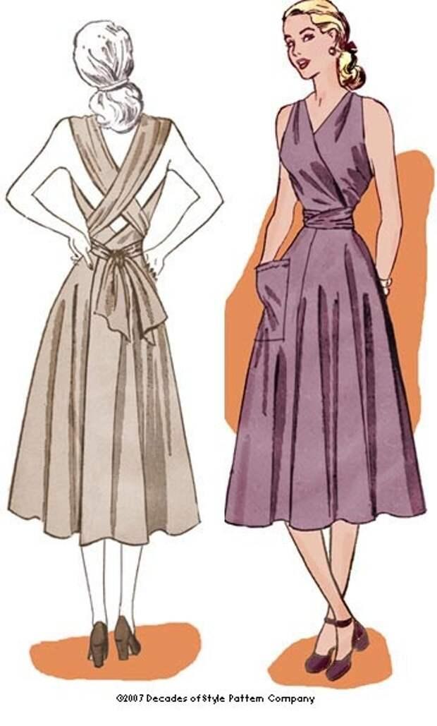 Декор спины одежды (подборка)