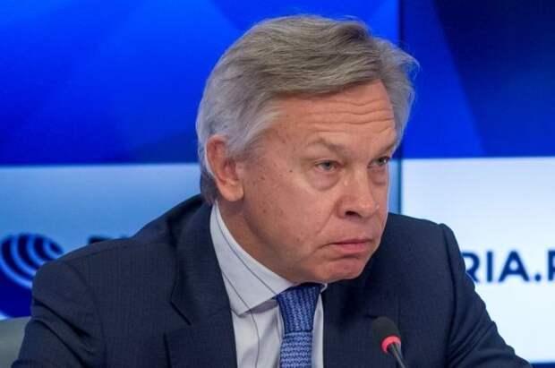 Пушков раскритиковал Зеленского за его слова, что Украина - «сердце Европы»