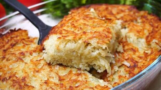 Картофельный кугель. Вкусное и бюджетное блюдо 2