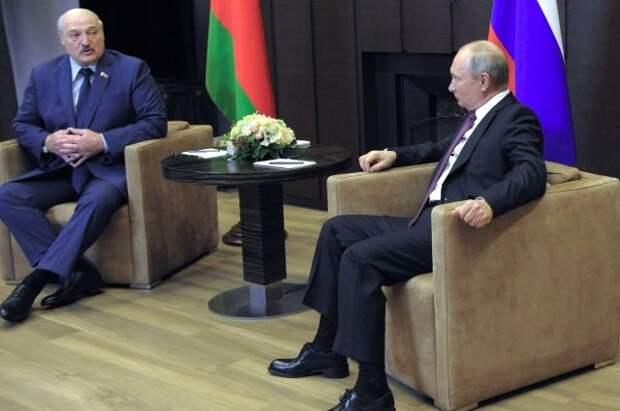 В Сочи продолжаются переговоры Путина и Лукашенко