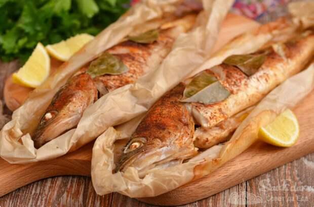 Попробовала новый способ запекания рыбы: очень вкусно и просто! Подходит для любой рыбы