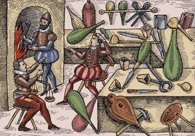 Опасная алхимия: Не казнят, так ртутью отравишься