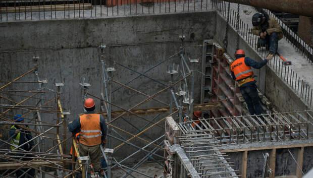 В Подмосковье со следующей недели останавливаются строительные работы