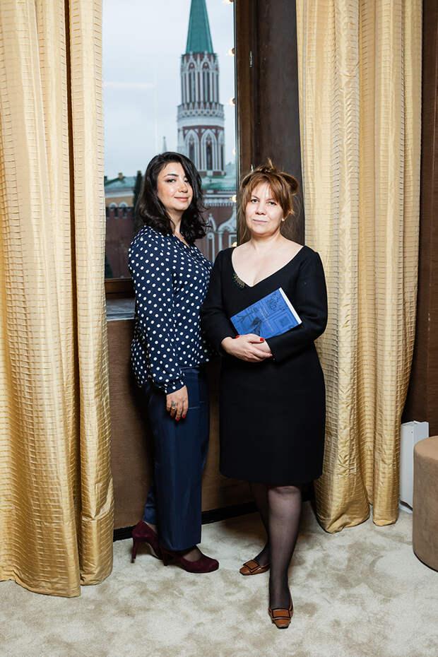 Александра Ерицян и Сурия Садекова