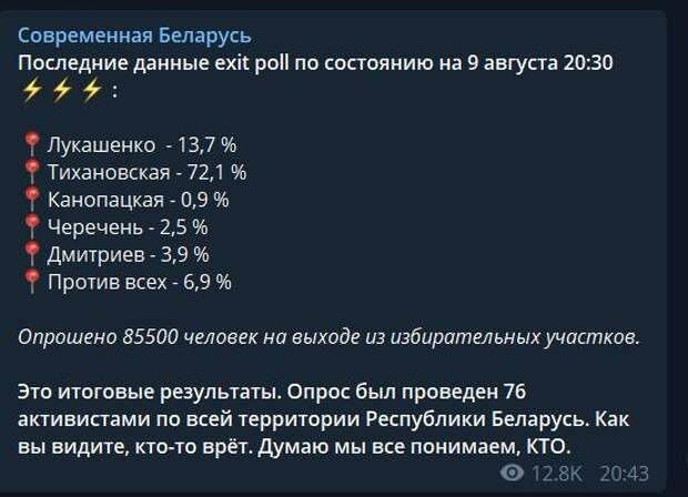 Белорусская реальность