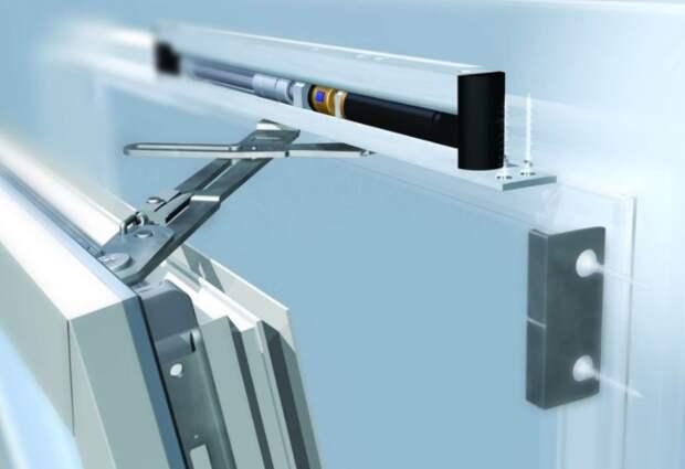 Механизм обеспечивает ограничивающий доступ к ручке снаружи накладок / Фото: bena.com.ua