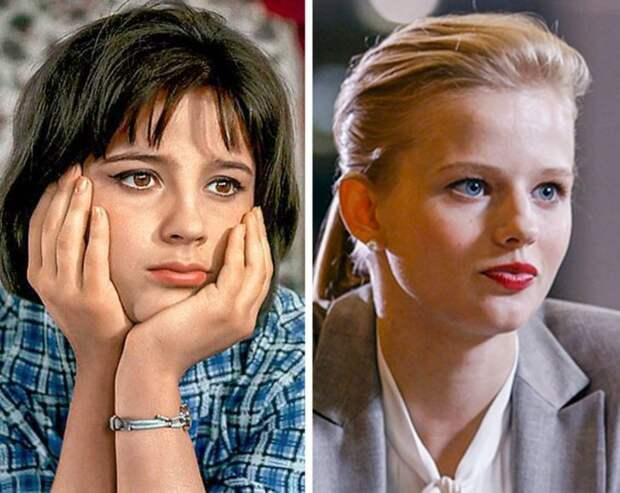 Как выглядели советские и современные актрисы в одном и том же возрасте
