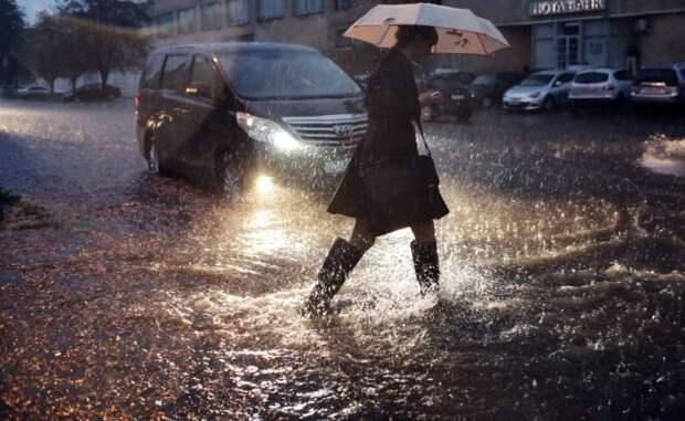 В Москве обновлен 73-летний рекорд по количеству осадков