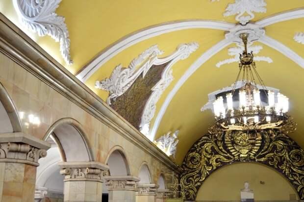 Московский метрополитен по праву считается одним из самых красивых в мире