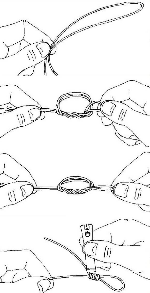 узлы для нахлыста