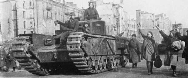 Британские танки: взгляд изнутри