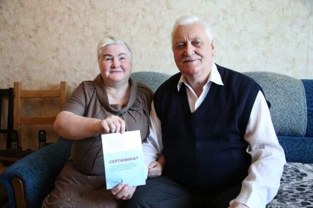 Семья пенсионеров из Некрасовки хочет быть защищенной от ковида