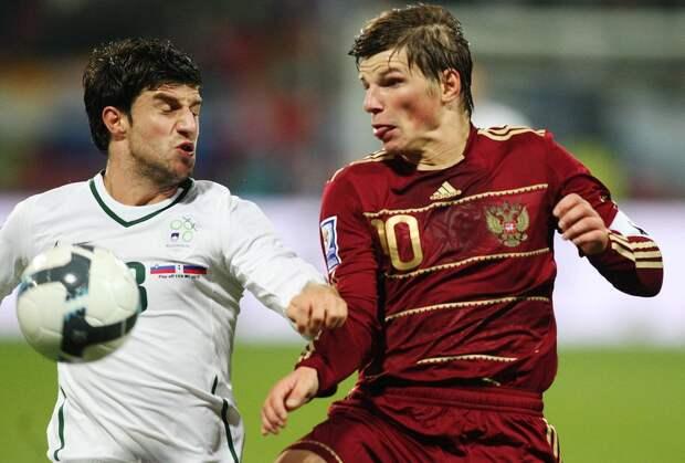 11 лет назад Словения оборвала сказку Хиддинка, оставив сборную России без ЧМ