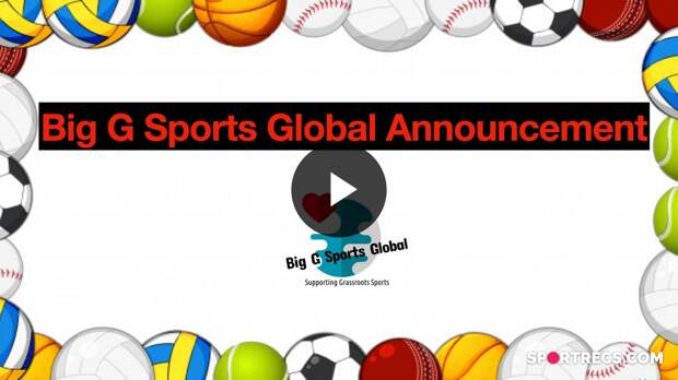 Big G Sports Global Special Announcement.