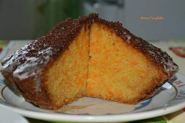 """Морковный тортик """"Оранжевое небо"""""""