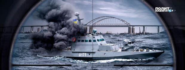 У берегов Крыма резко возрастает опасность новых провокаций Украины