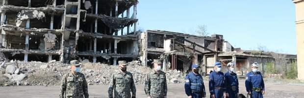 Собаки-спасатели из Карагандинской области успешно прошли сертификацию