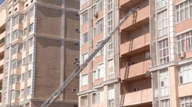 Эвакуация по пожарной лестнице и кинологи — учения прошли в Шымкенте