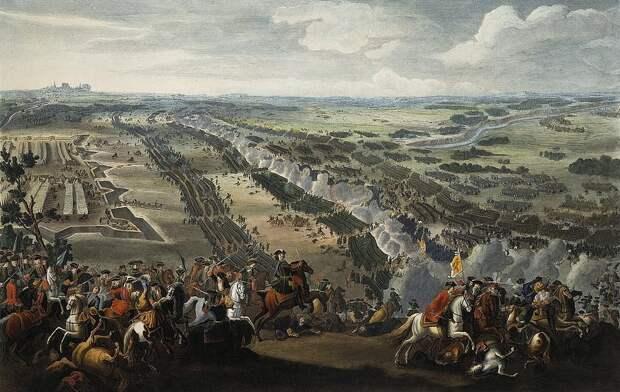 Пьер-Дени Мартин. Событие 1709 года - «Полтавскаябитва».