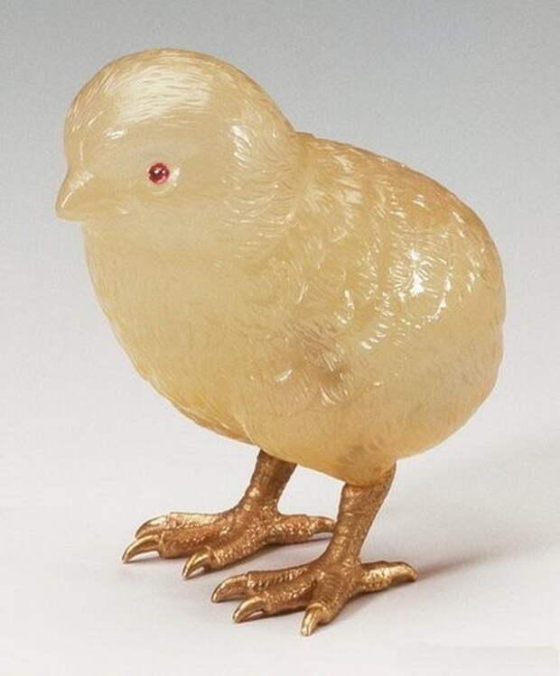 Камнерезные фигурки птиц фирмы Фаберже из королевской коллекции, фото № 25
