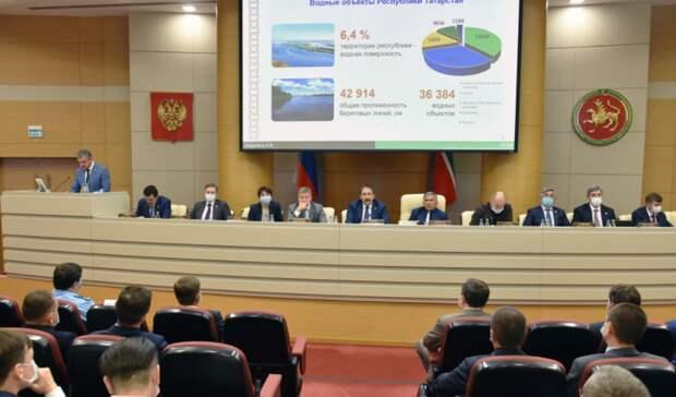 В Татарстане загрязнены 90% водоемов
