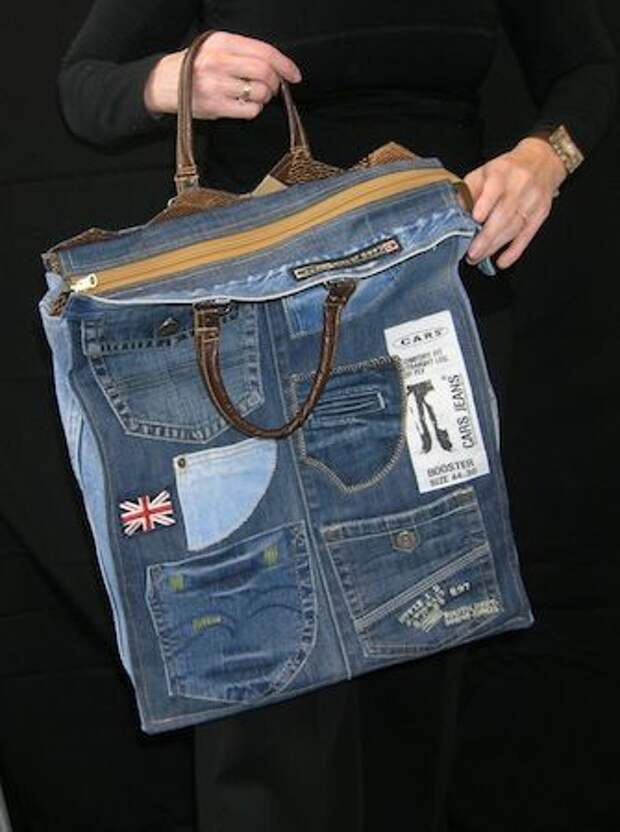 Сумки из джинсов (часть3)