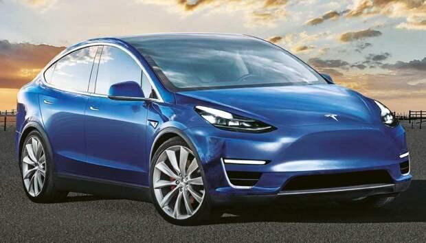 В январе на китайском рынке появится локализованная версия Tesla Model Y