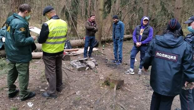 45 нарушителей самоизоляции выявили в лесах и парках Подмосковья за два дня