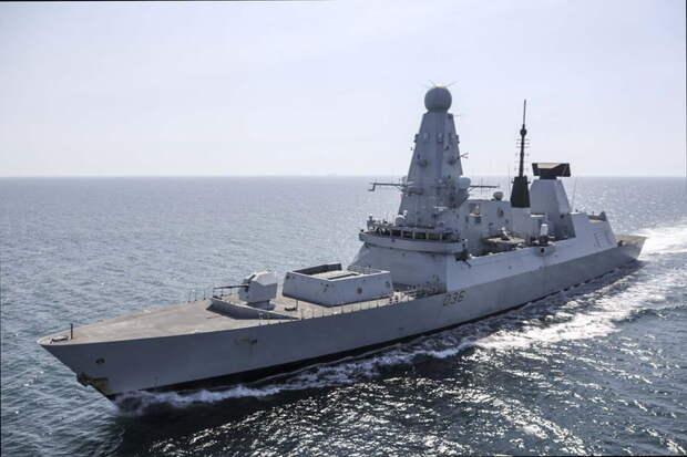 Британский эсминец проверил боеготовность Крыма