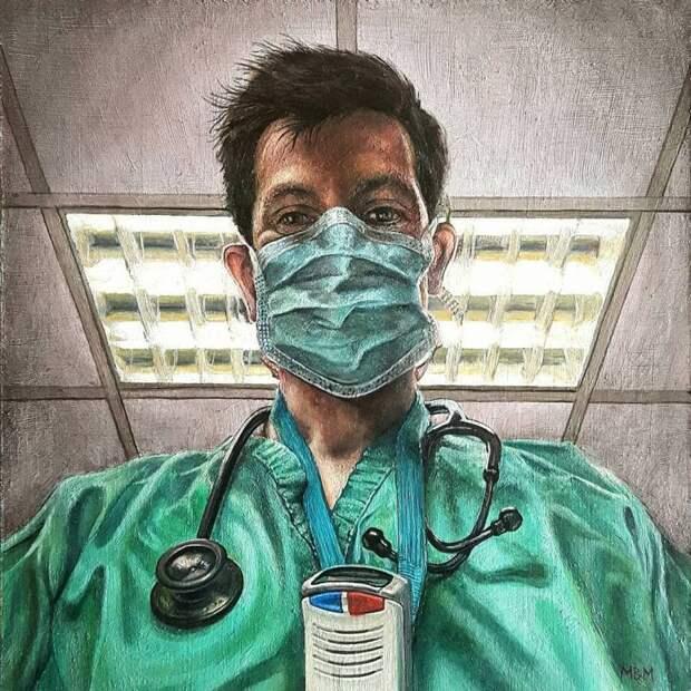 06a-Mark Mulholland, Retrato del Dr. McCready.jpg