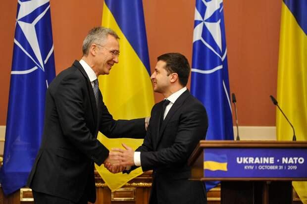 ВГосдуме оценили вероятность вступления Украины вНАТО