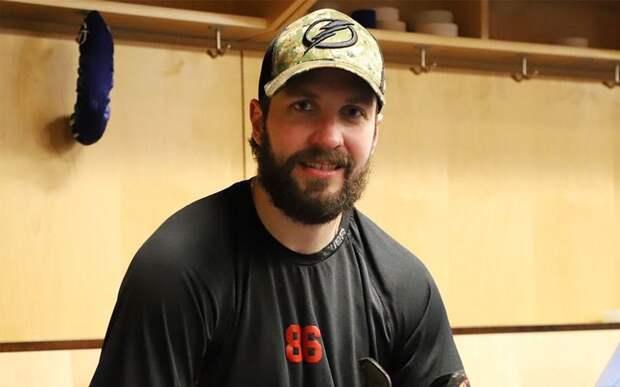 Кучеров поделился ожиданиями от первой игры в плей-офф НХЛ