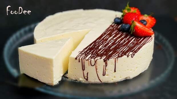 Безупречный нежный десерт БЕЗ сахара, муки и масла