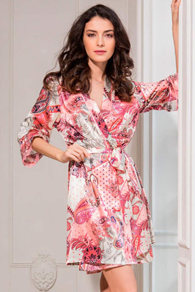 Как сшить халат-кимоно
