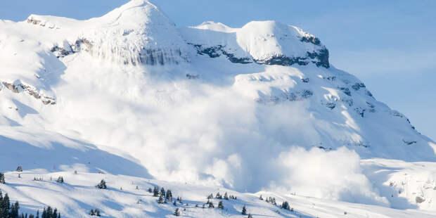 Два лыжника погибли в швейцарском Граубюндене при сходе лавины