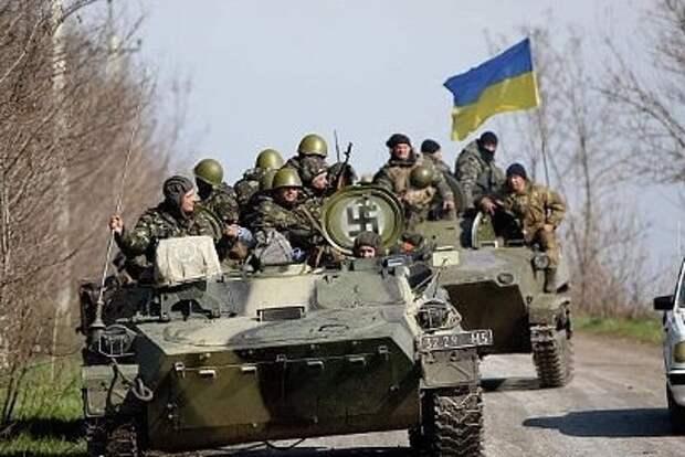 Украинские силовики возьмут в блокаду Луганск и Донецк.