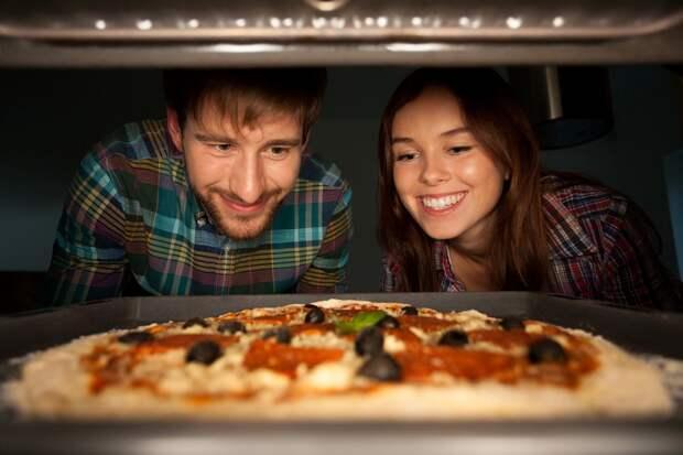 тесто для итальянской пиццы рецепт