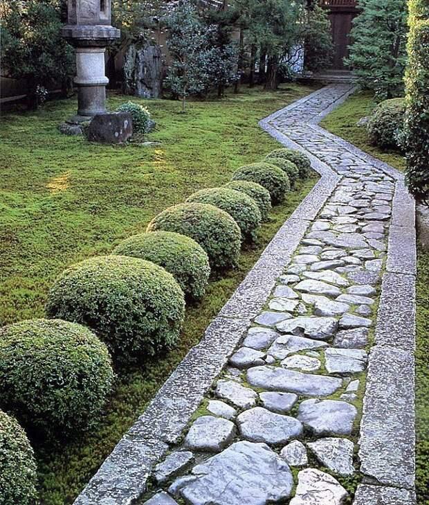Садовая дорожка. Выбор материала.