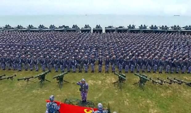 Китай затеял военную экспансию в разные регионы планеты