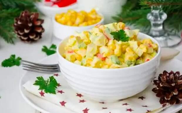 10 действительно вкусных салатов с крабовыми палочками