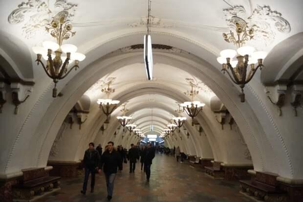 Над обликом станций московского метро трудились лучшие архитекторы