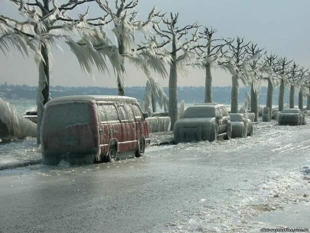frozen09 Самые красивые фотографии морозной зимы